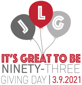 Giving Day Logo with Balloons