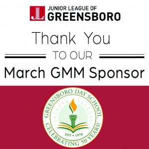 March Sponsor Thank You